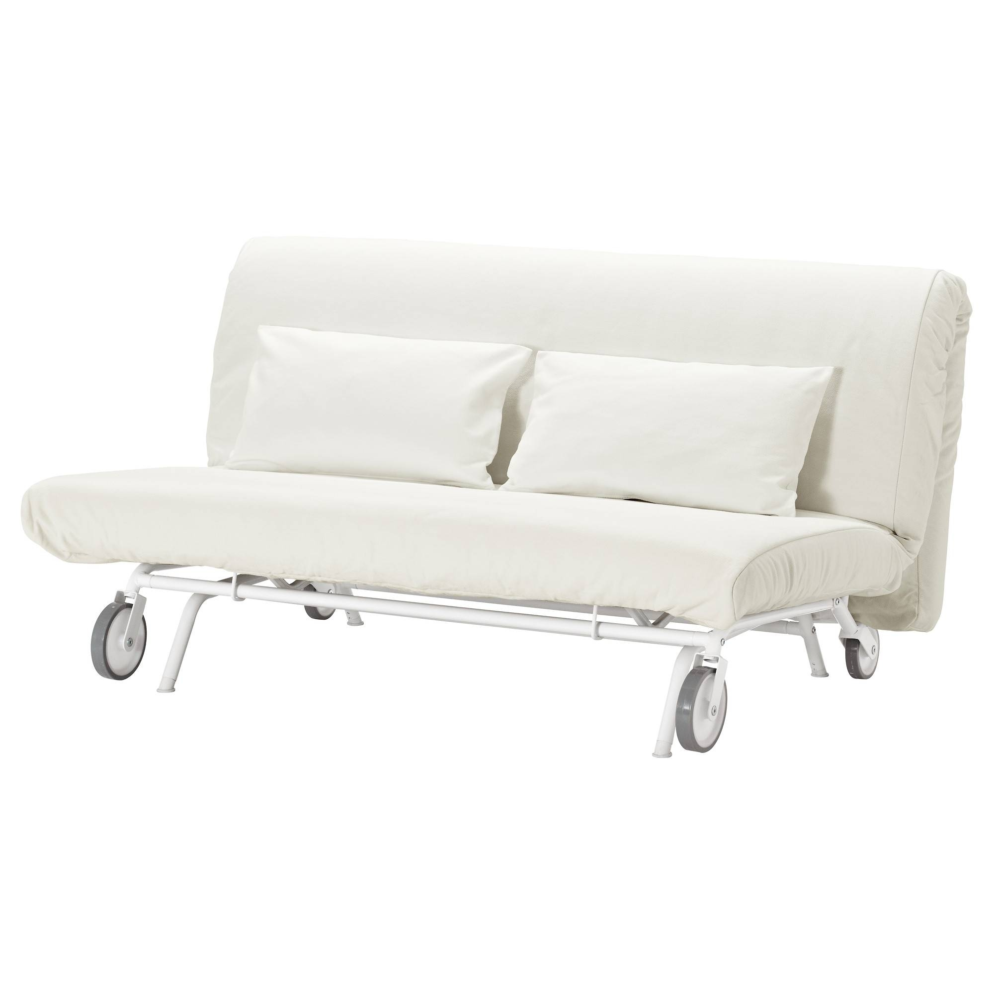 Ikea Ps Lövås Two-Seat Sofa-Bed Gräsbo White - Ikea intended for Ikea Two Seater Sofas (Image 10 of 30)