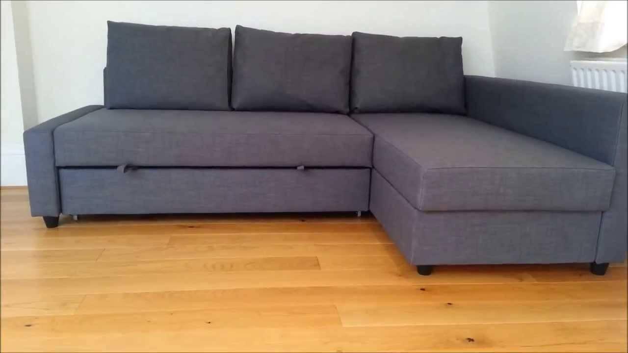 Ikea Sofa Bed - Youtube with regard to Corner Sofa Bed With Storage Ikea (Image 21 of 30)