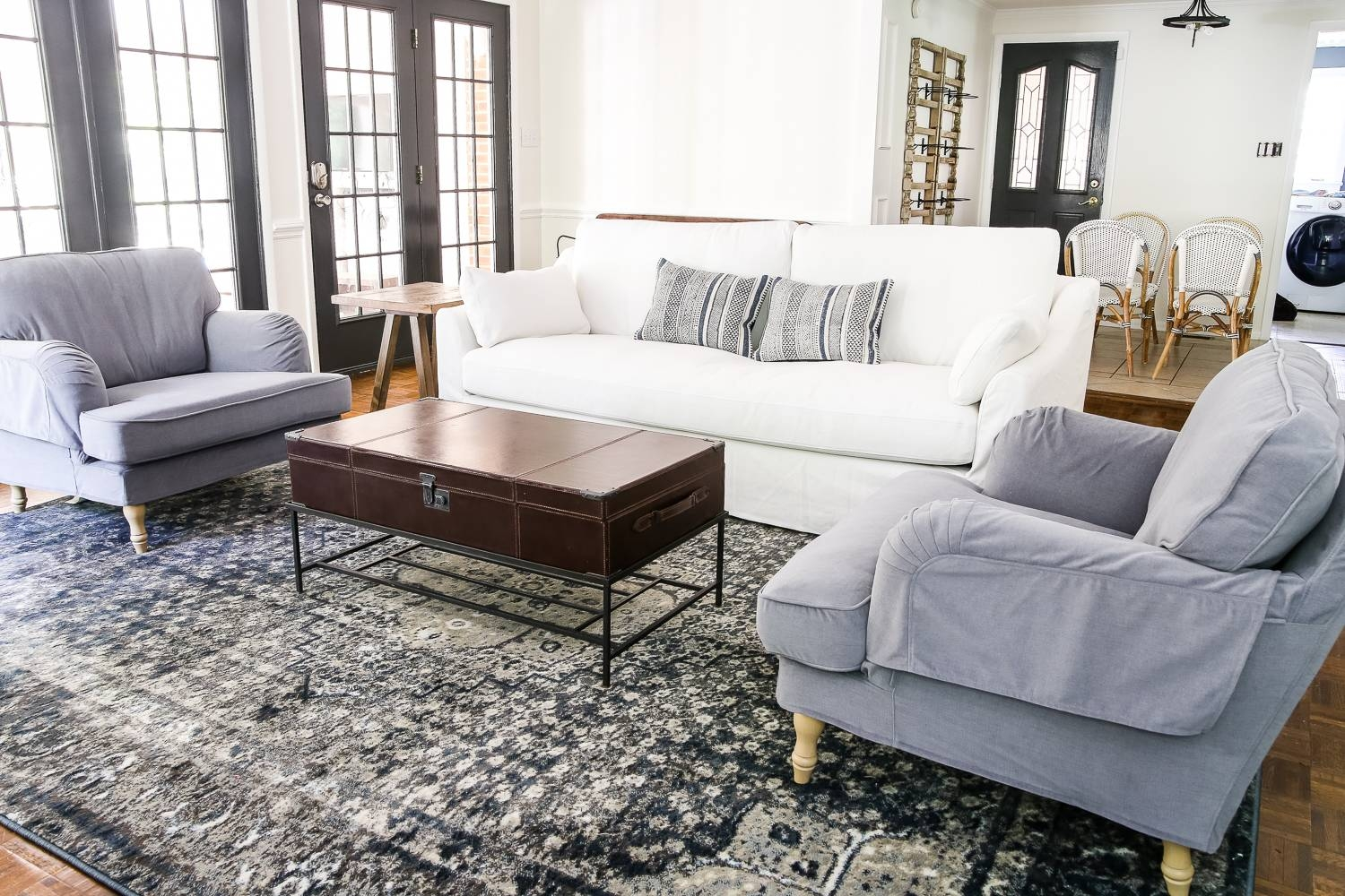 Ikea's New Sofa And Chairs And How To Keep Them Clean - Bless'er House with Comfortable Sofas And Chairs (Image 7 of 30)