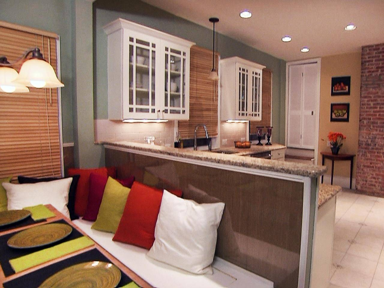 Image Of Kitchen Banquette Bench. Best Kitchen Island With Seating within Corner Seating Ideas (Image 22 of 30)