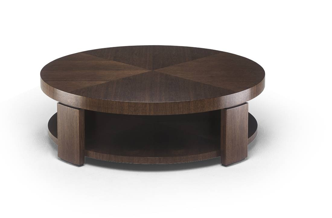 Image Of Round Ottoman Coffee Table Storage Round Coffee Table throughout Round Coffee Table Storages (Image 19 of 30)