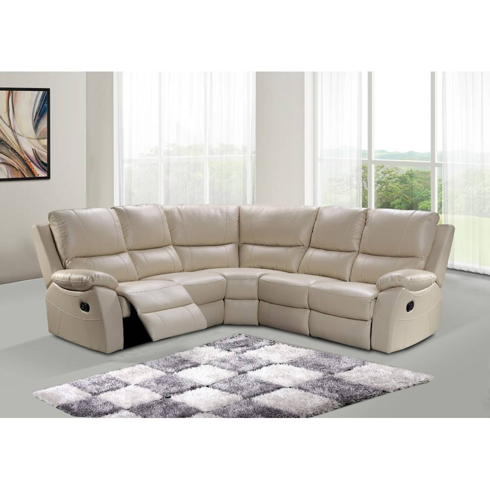 20 Best Collection Of White Leather Corner Sofa: 30 Best Collection Of Leather Corner Sofas