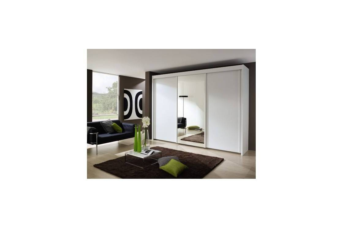 Imperial 4 Door Sliding Wardrobe With 2 Mirrored Doors (w 320cm X With Imperial Wardrobes (View 12 of 15)