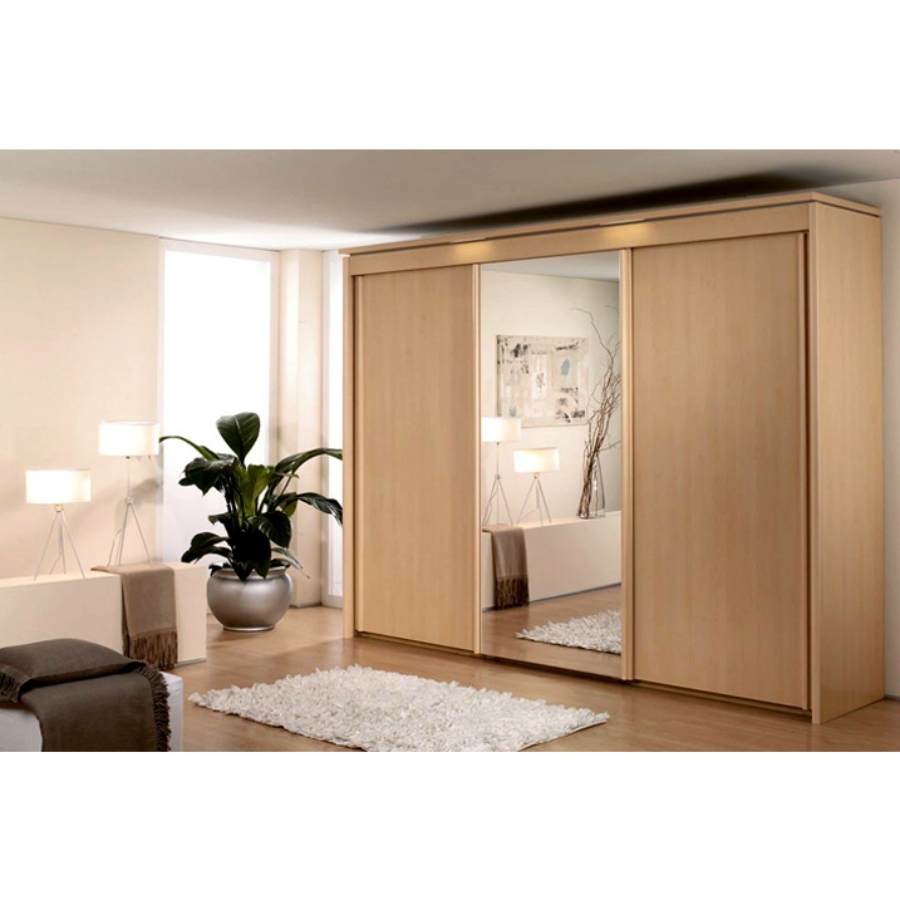 Imperial Gliding Door Wardrobe - Bringy Furniture for Rauch Imperial Wardrobes (Image 3 of 15)