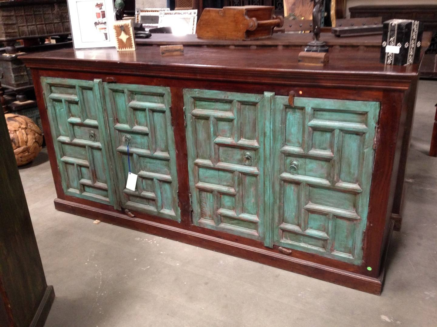 Imported Rustic Sideboards From India, China, Indonesia And Mexico for Mexican Sideboards (Image 17 of 30)