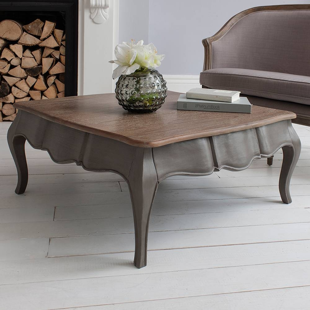 Inadam Furniture - Coffee Table In Classic Grey - Paris Furniture in Grey Coffee Tables (Image 22 of 30)
