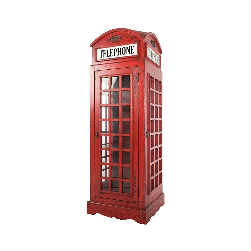 Inadam Furniture - Red Phone Box - From The Nostalgia Furniture inside Telephone Box Wardrobes (Image 5 of 15)
