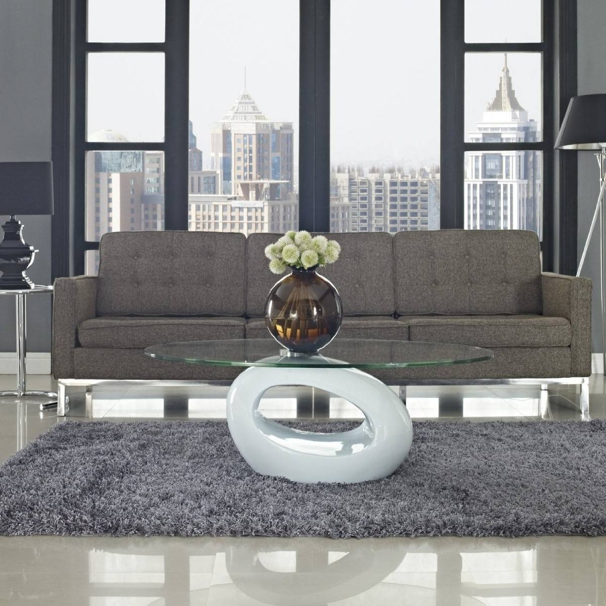 Incredible Glass Living Room Table Design – Glass Coffee Table pertaining to Modern Glass Coffee Tables (Image 16 of 30)