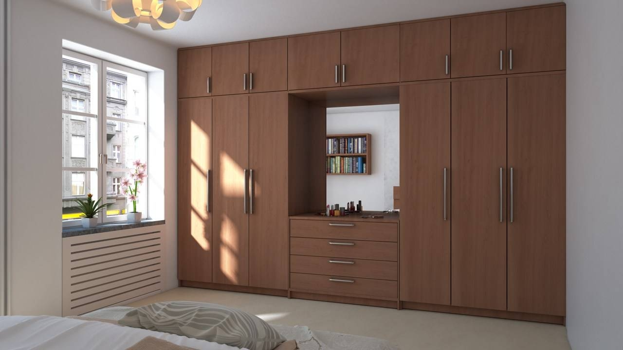 Incredible Wall To Wardrobes In Bedroom And Great Ideas About inside Wall Wardrobes (Image 16 of 30)