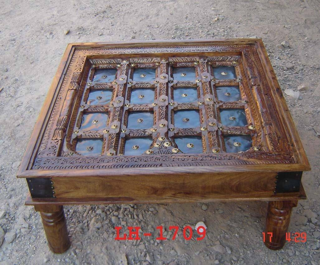 Indian Carved Wood Coffee Table - Look Here — Coffee Tables Ideas pertaining to Indian Coffee Tables (Image 20 of 30)