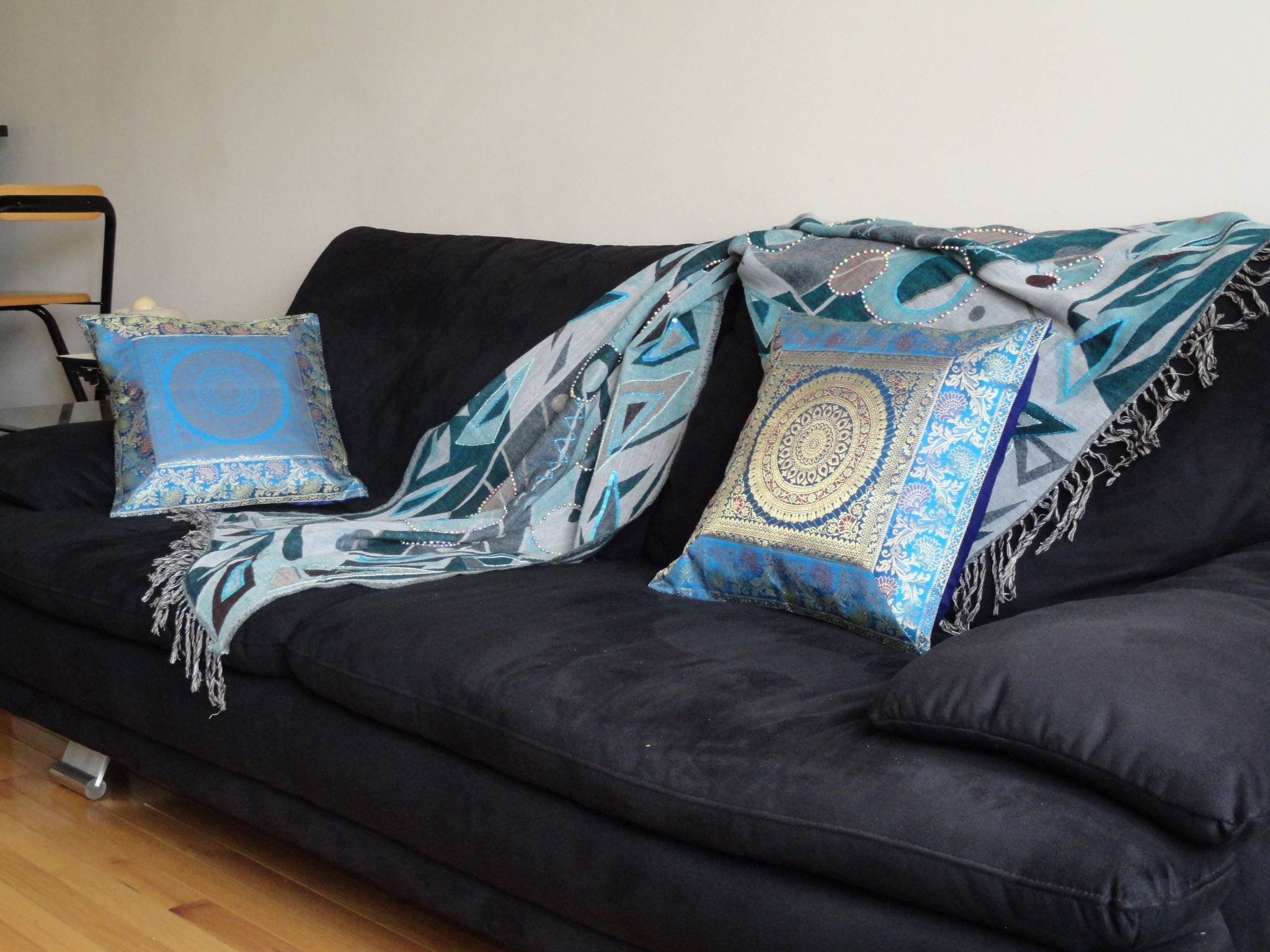 Indian Sofa Covers 74 With Indian Sofa Covers | Jinanhongyu within Turquoise Sofa Covers (Image 15 of 30)