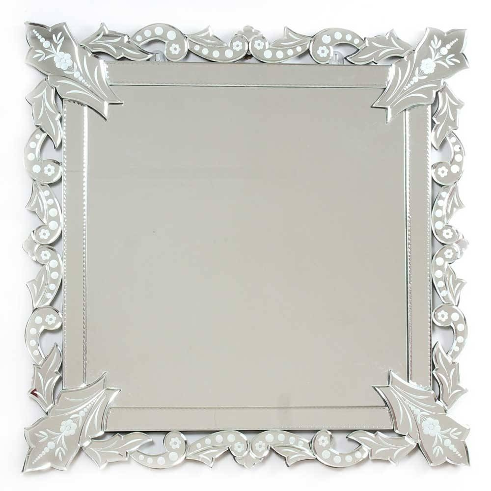 Indianshelf pertaining to Square Venetian Mirrors (Image 12 of 25)