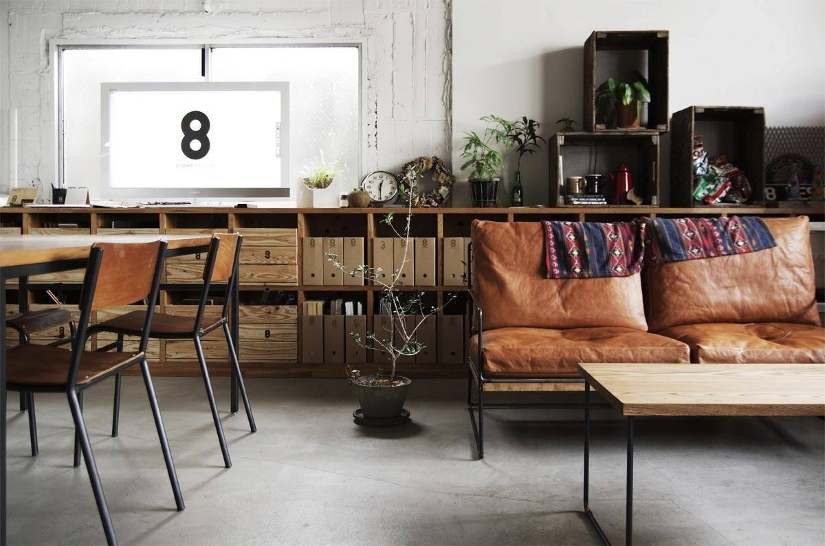 Industrial Decor Ideas & Design Guide - Froy Blog inside Vintage Sofa Styles (Image 13 of 30)