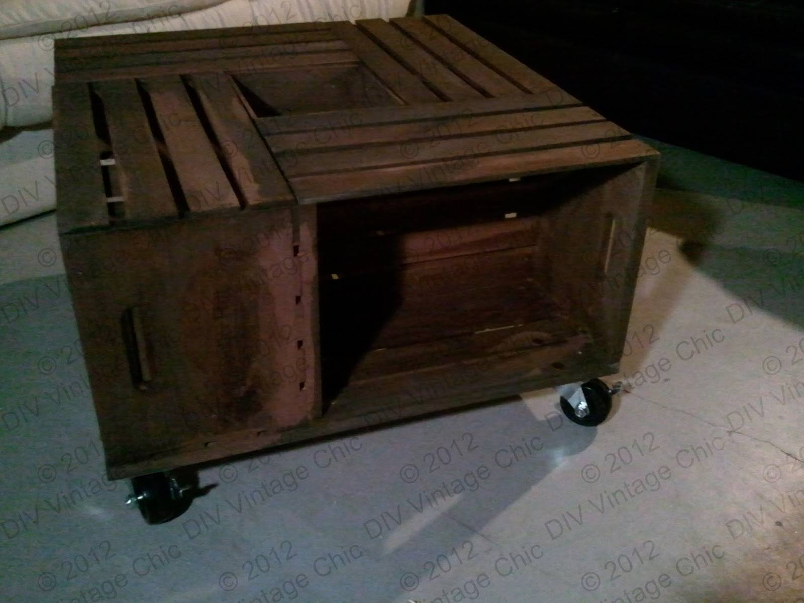 Industrial Rustic Coffee Table With Wheels | Design Ideas And Decor for Rustic Coffee Table With Wheels (Image 19 of 30)