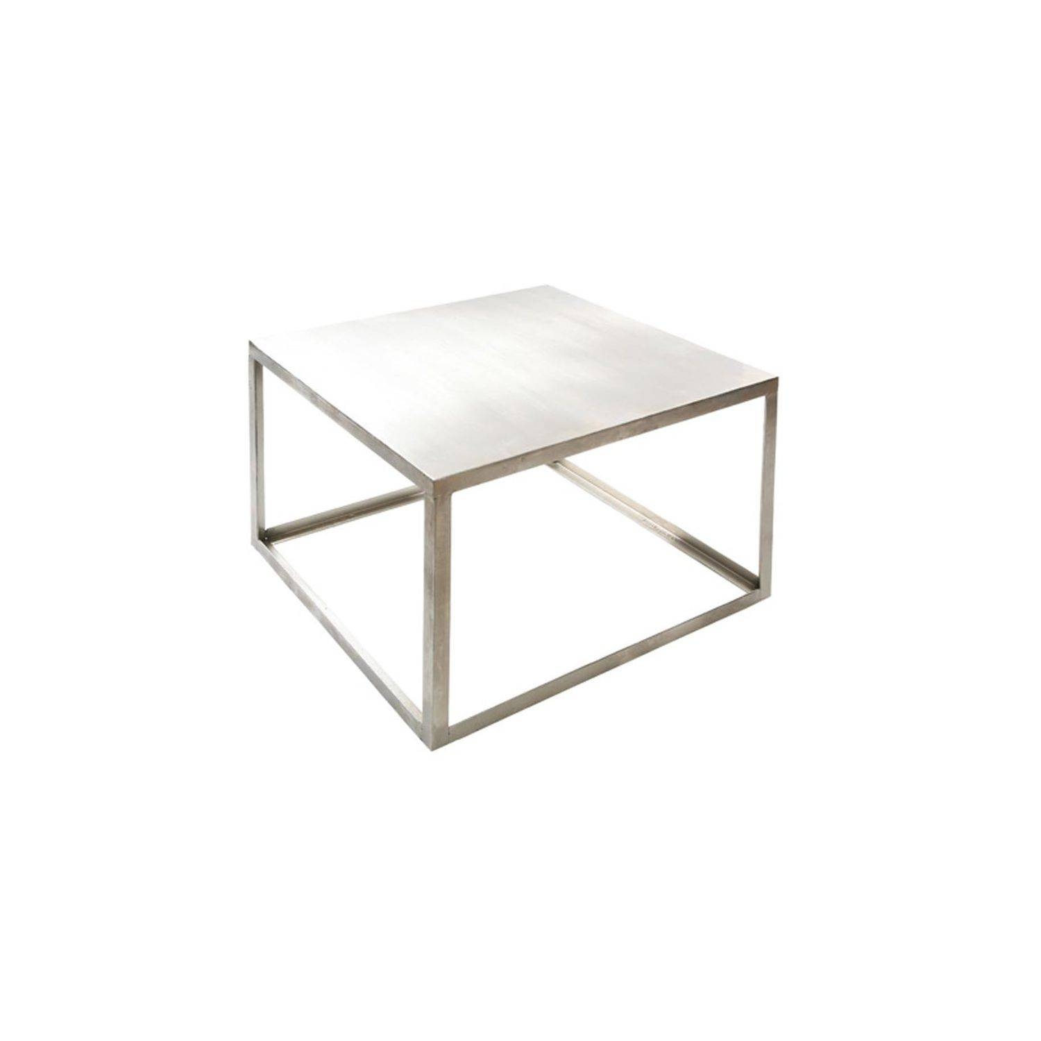 Industrial Style Coffee Table / Metal / Rectangular / Square regarding Coffee Table Industrial Style (Image 24 of 30)