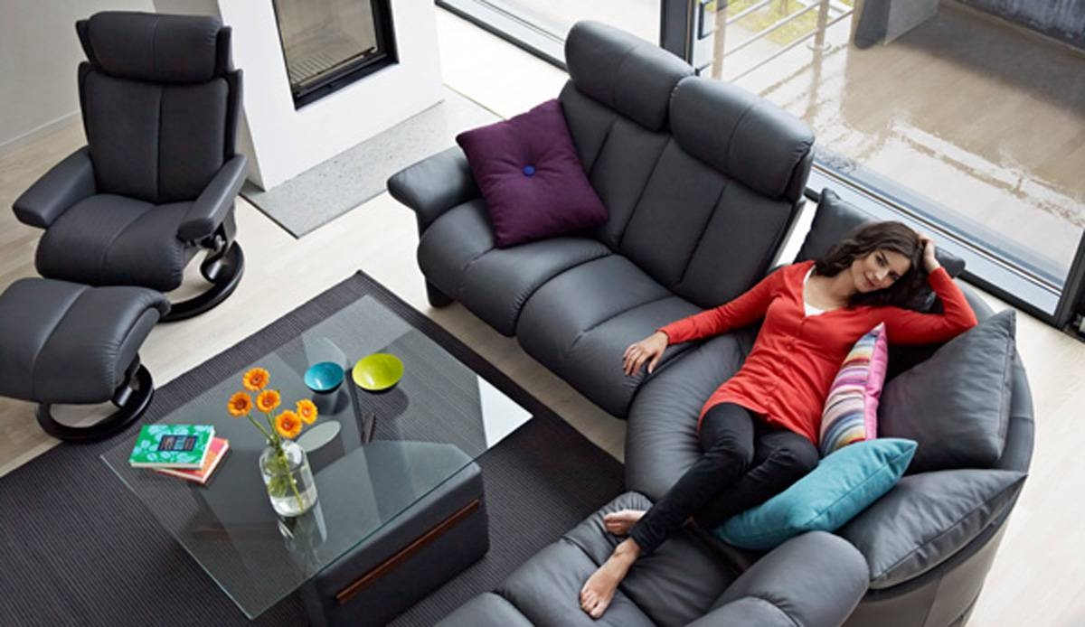 Innovative And Comfortable Furniture Designedstressless within Comfortable Sofas And Chairs (Image 9 of 30)