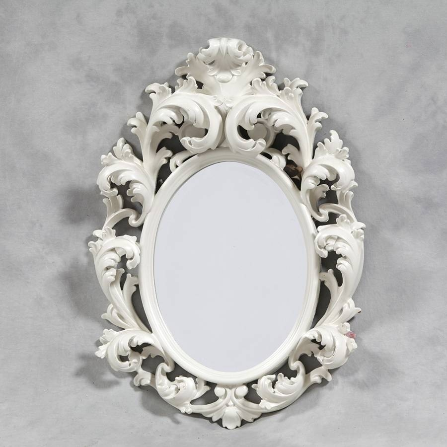 Inspiration Wall Mirror Design | House Interior And Furniture throughout White Rococo Mirrors (Image 16 of 25)