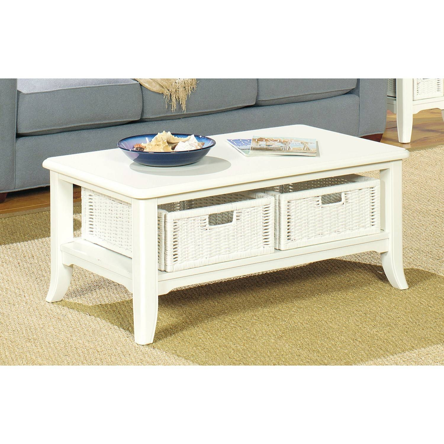 2017 Best of Retro White Coffee Tables