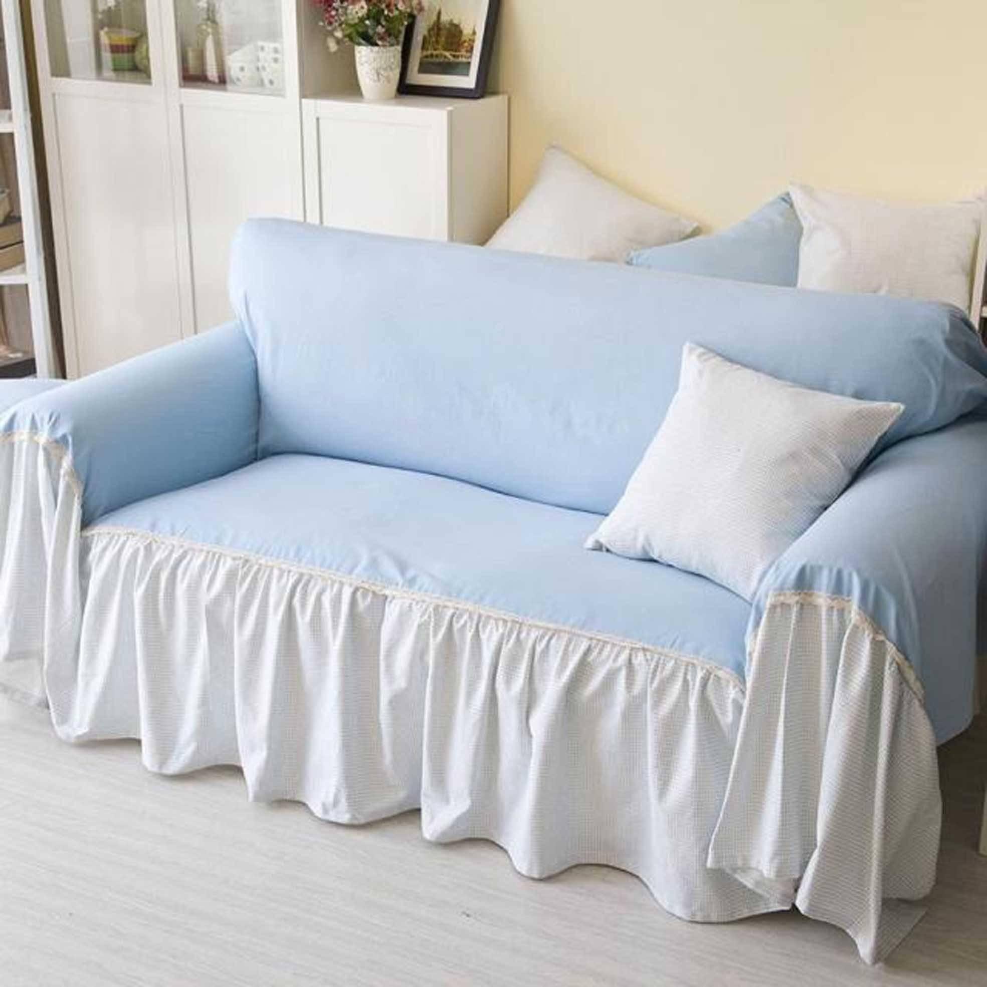 Inspirations: Interesting Furniture Sectional Sofa Slipcovers For regarding Large Sofa Slipcovers (Image 11 of 30)