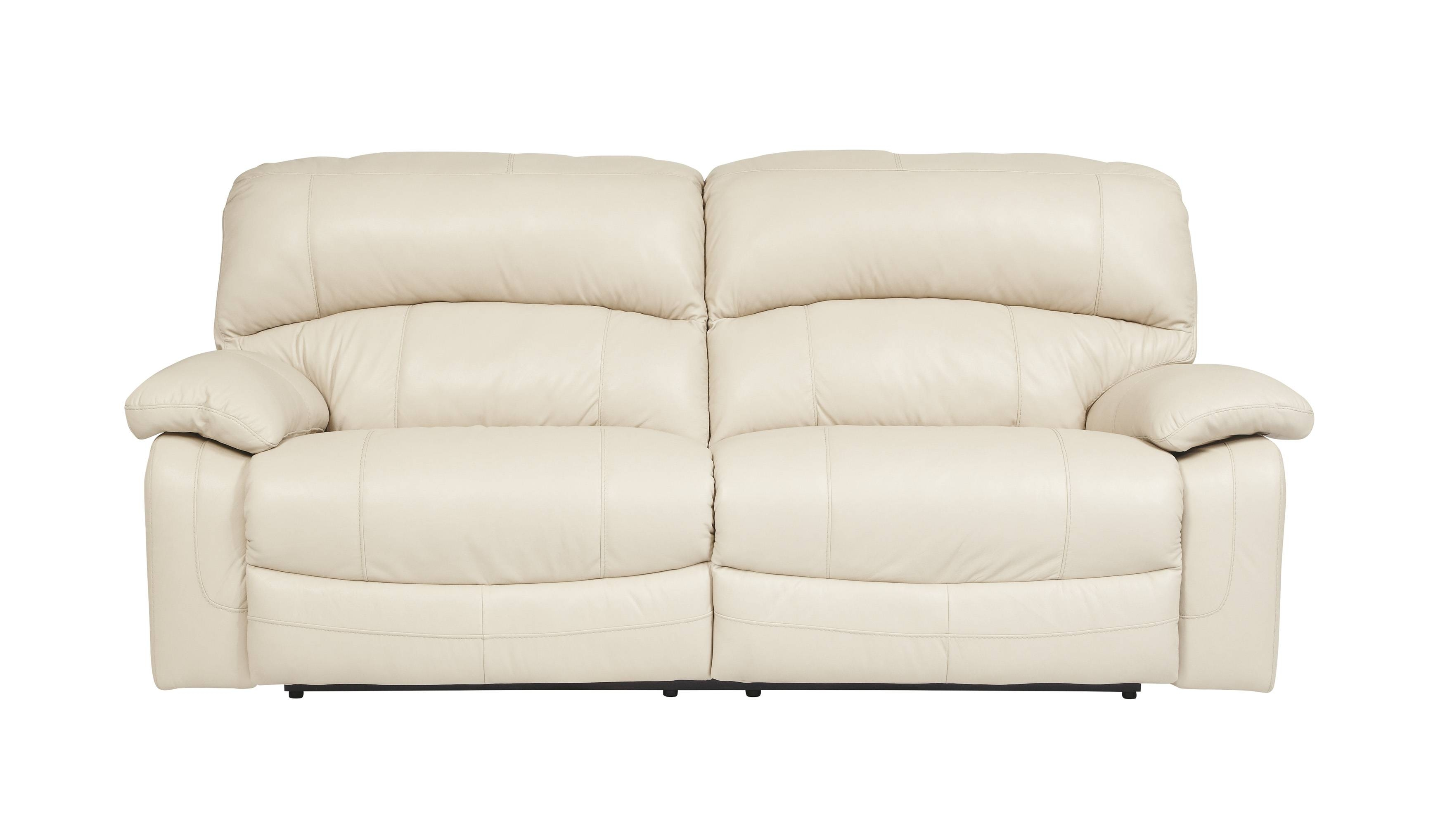 Inspirations White Leather Recliner Sofa And White Recliner Regarding 2 Seater Recliner Leather Sofas (View 19 of 30)