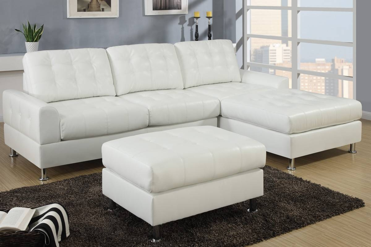 white leather sofa with chaise with babbitt ivory intended for ivory leather sofas image