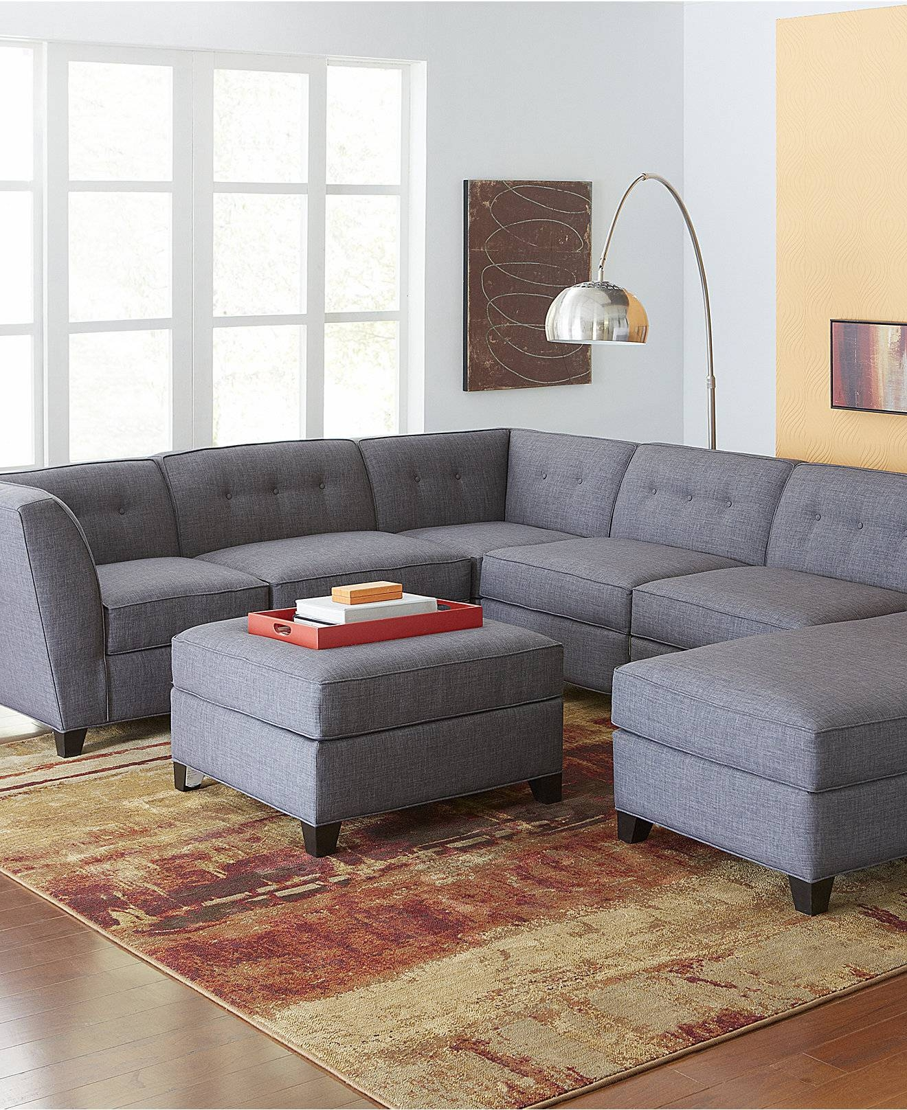 Interesting Gray Modular Sectional Sofa 83 For Sectional Sofas in Craigslist Sectional Sofa (Image 17 of 30)