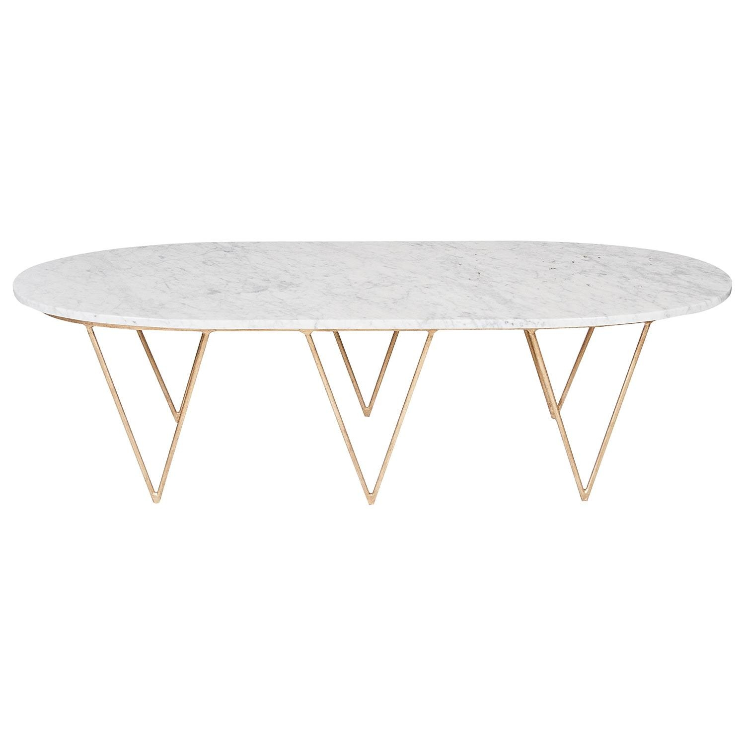 Interesting Oval Marble Coffee Table – Modern Oval Marble Coffee intended for Oblong Coffee Tables (Image 20 of 30)