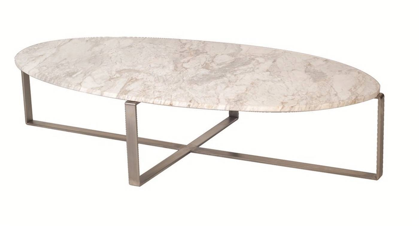 Interesting Oval Marble Coffee Table – Modern Oval Marble Coffee with regard to Oblong Coffee Tables (Image 21 of 30)