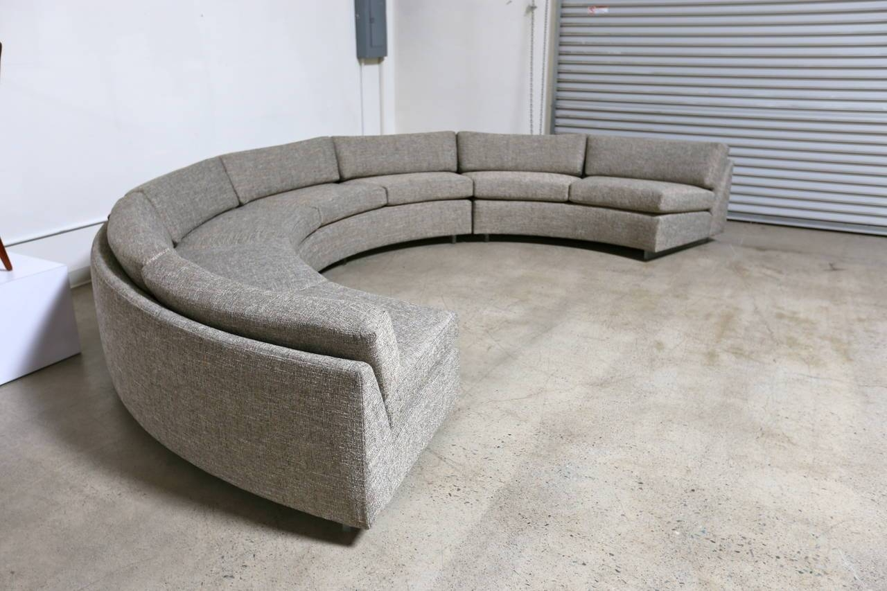 Interesting Semi Circular Sofa Bed #4729 with regard to Semicircular Sofa (Image 5 of 30)