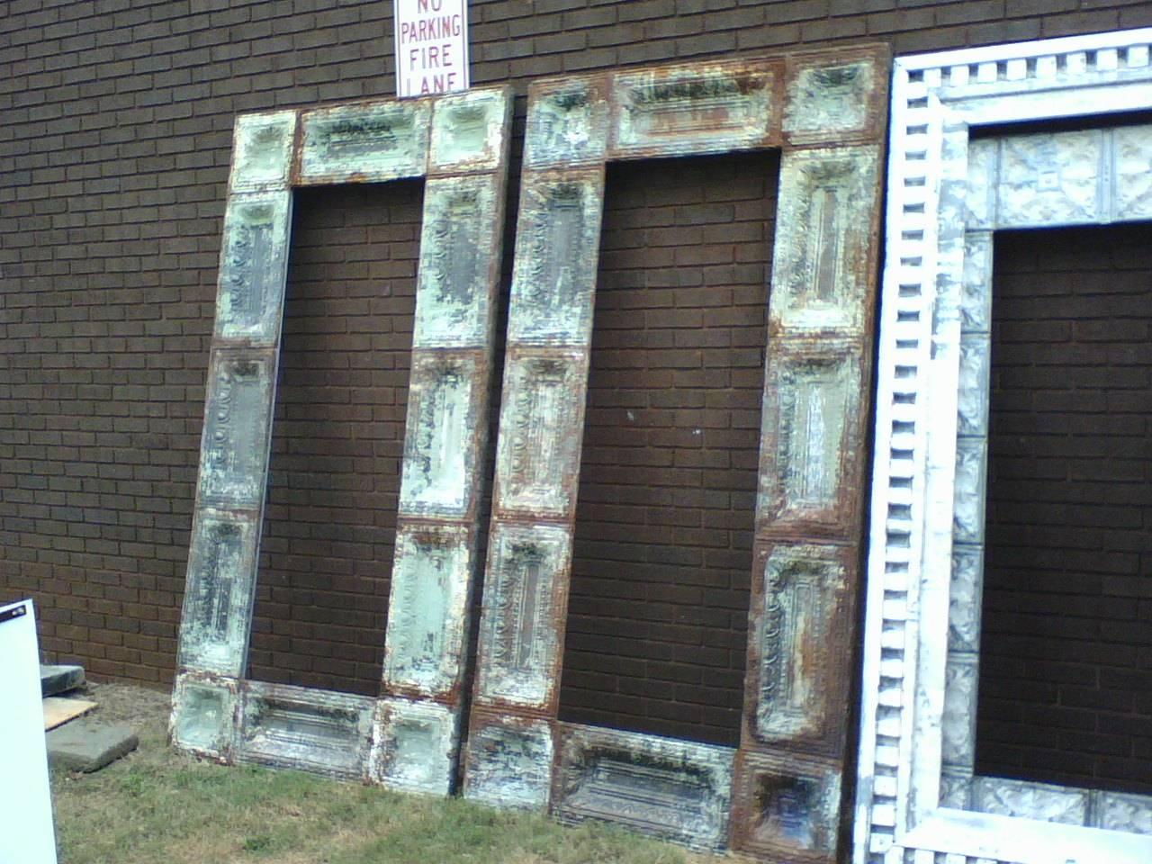 Interesting Wall Decorating Design Ideas Using Various Tin Mirror regarding Pressed Tin Mirrors (Image 11 of 25)
