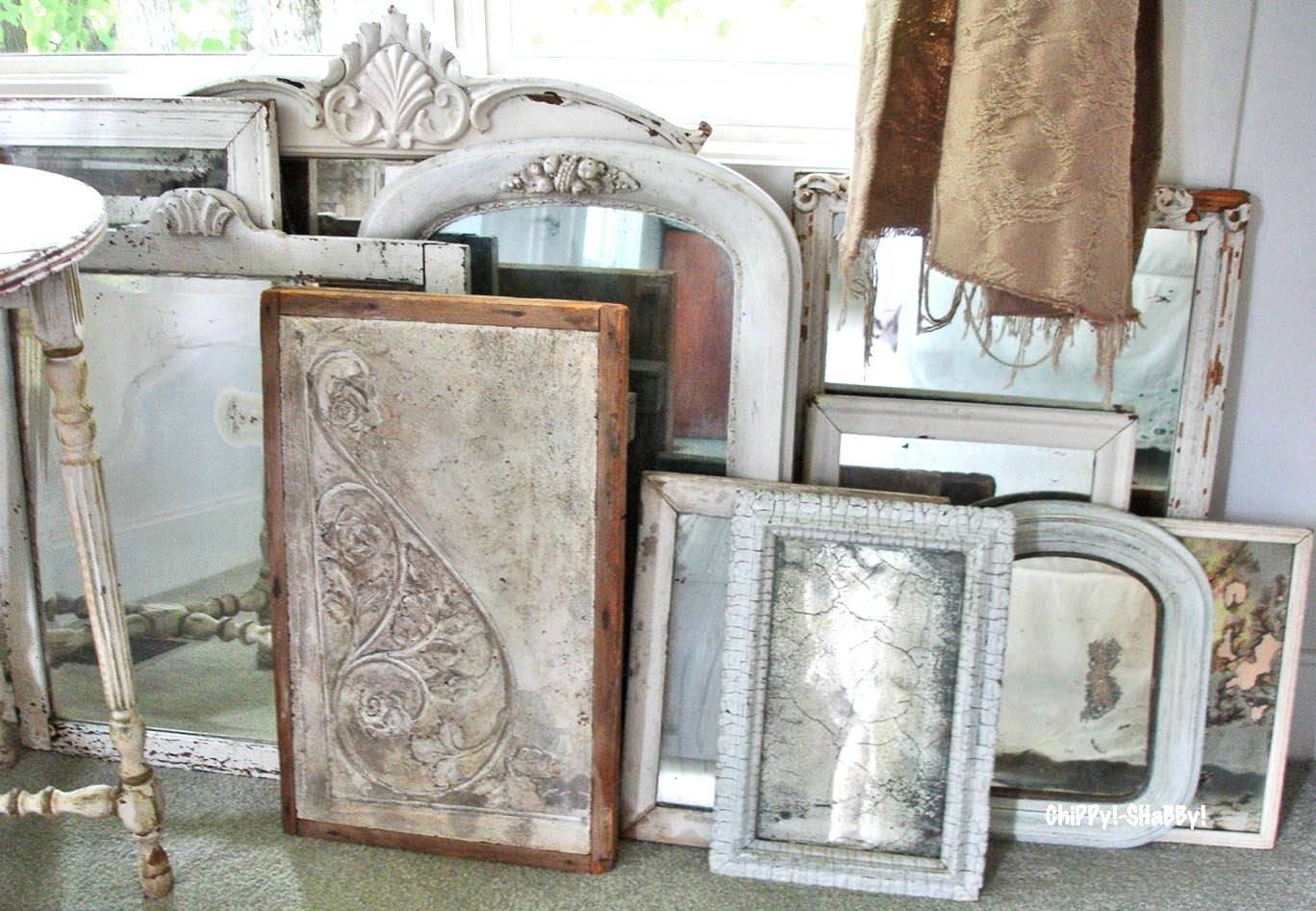 Interesting Wall Decorating Design Ideas Using Various Tin Mirror with regard to Pressed Tin Mirrors (Image 12 of 25)