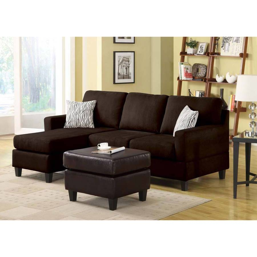 Interesting Walmart Sectional Sofas 64 On Contemporary Black intended for Contemporary Black Leather Sectional Sofa Left Side Chaise (Image 23 of 30)
