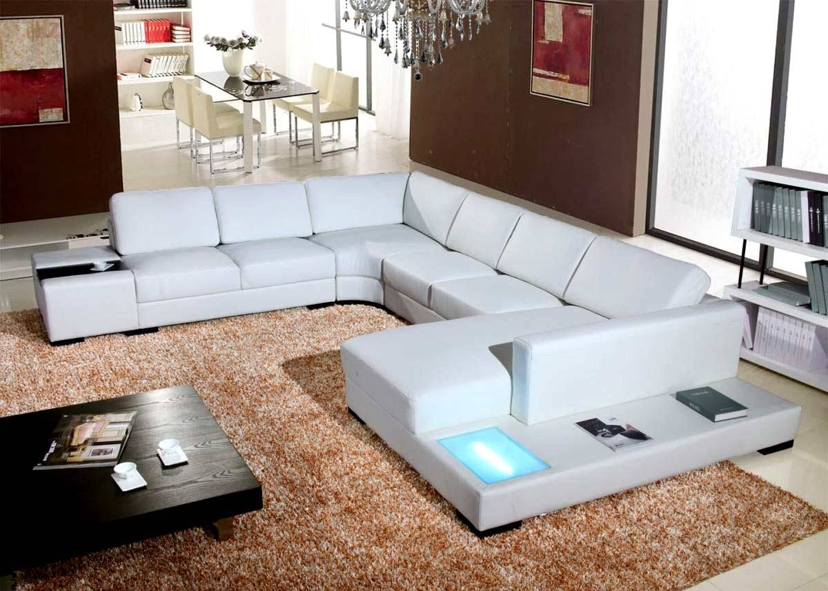 Interior: Best Collection White Sectional Sofa For Excellent intended for Extra Wide Sectional Sofas (Image 22 of 30)