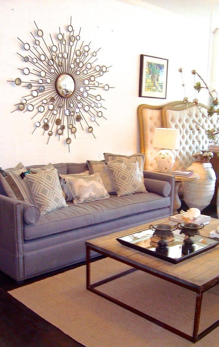 Interior & Decoration: Bronze Silver Starburst Mirror For throughout Bronze Starburst Mirrors (Image 14 of 25)