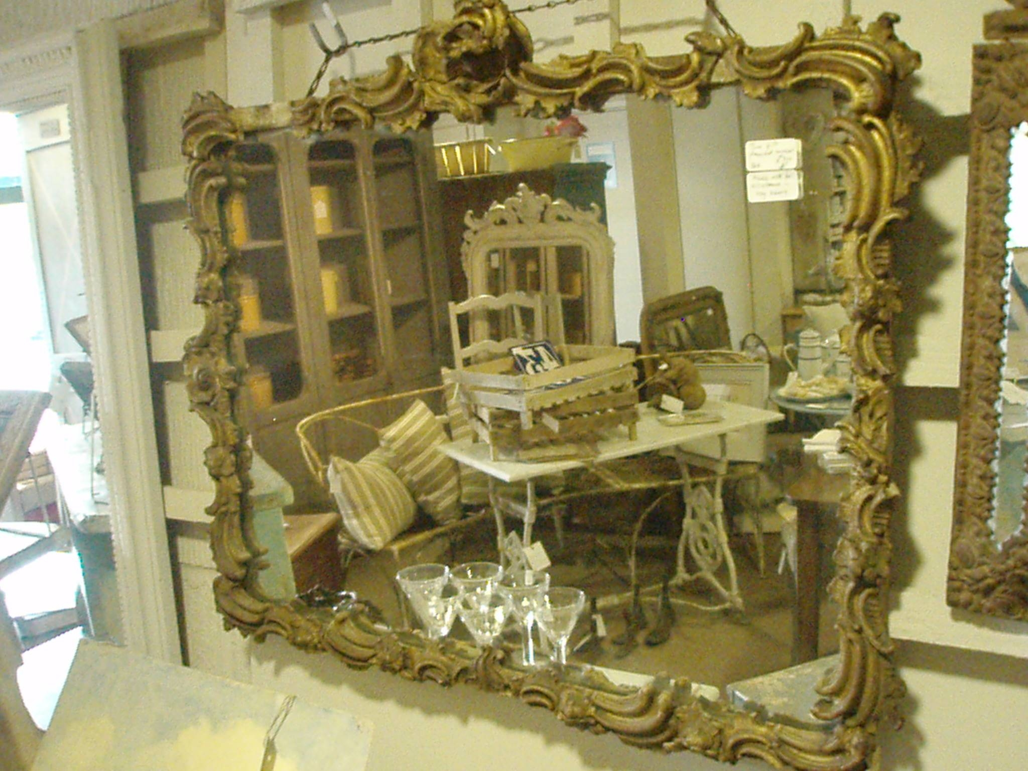 Interior & Decoration: Gold Ornate Mirrors For Antique Interior Design within Ornate Mirrors (Image 16 of 25)