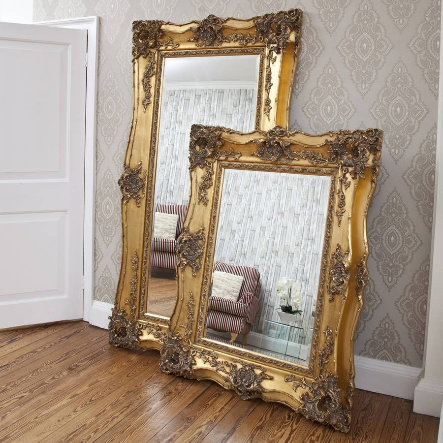 Interior : Decorative Gold Mirrors Throughout Delightful Vintage pertaining to Ornate Large Mirrors (Image 10 of 25)