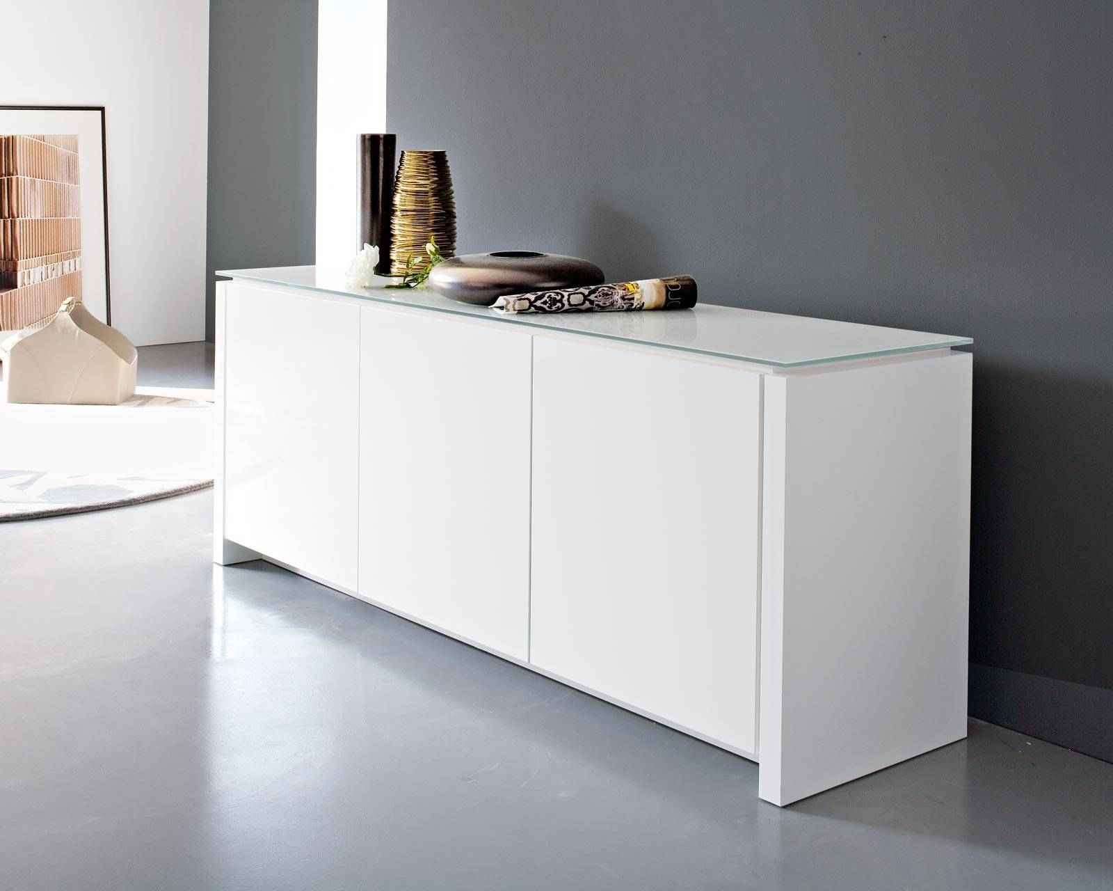 Interior : Dining Room Sideboard White For Splendid White for White Modern Sideboards (Image 10 of 30)