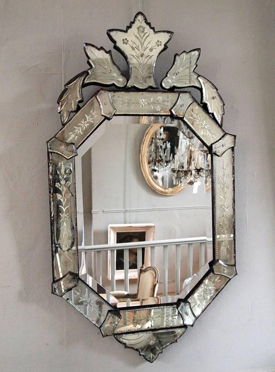 Interior: Framed Mirrors For Bathroom | Venetian Mirror | Leaning with regard to Venetian Mirrors (Image 11 of 25)