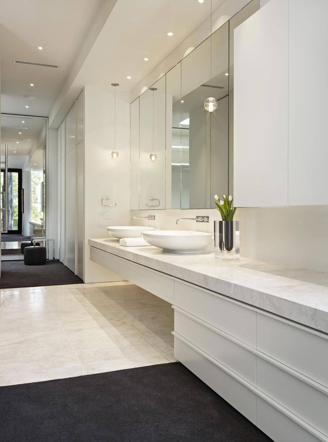 Interior Frameless Mirrors Bathroom 2017 And Large Mirror Images for Frameless Large Mirrors (Image 16 of 25)
