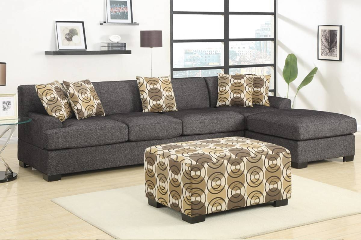 Interior: Gorgeous Lady Charcoal Sectional For Living Room within Small 2 Piece Sectional Sofas (Image 22 of 30)