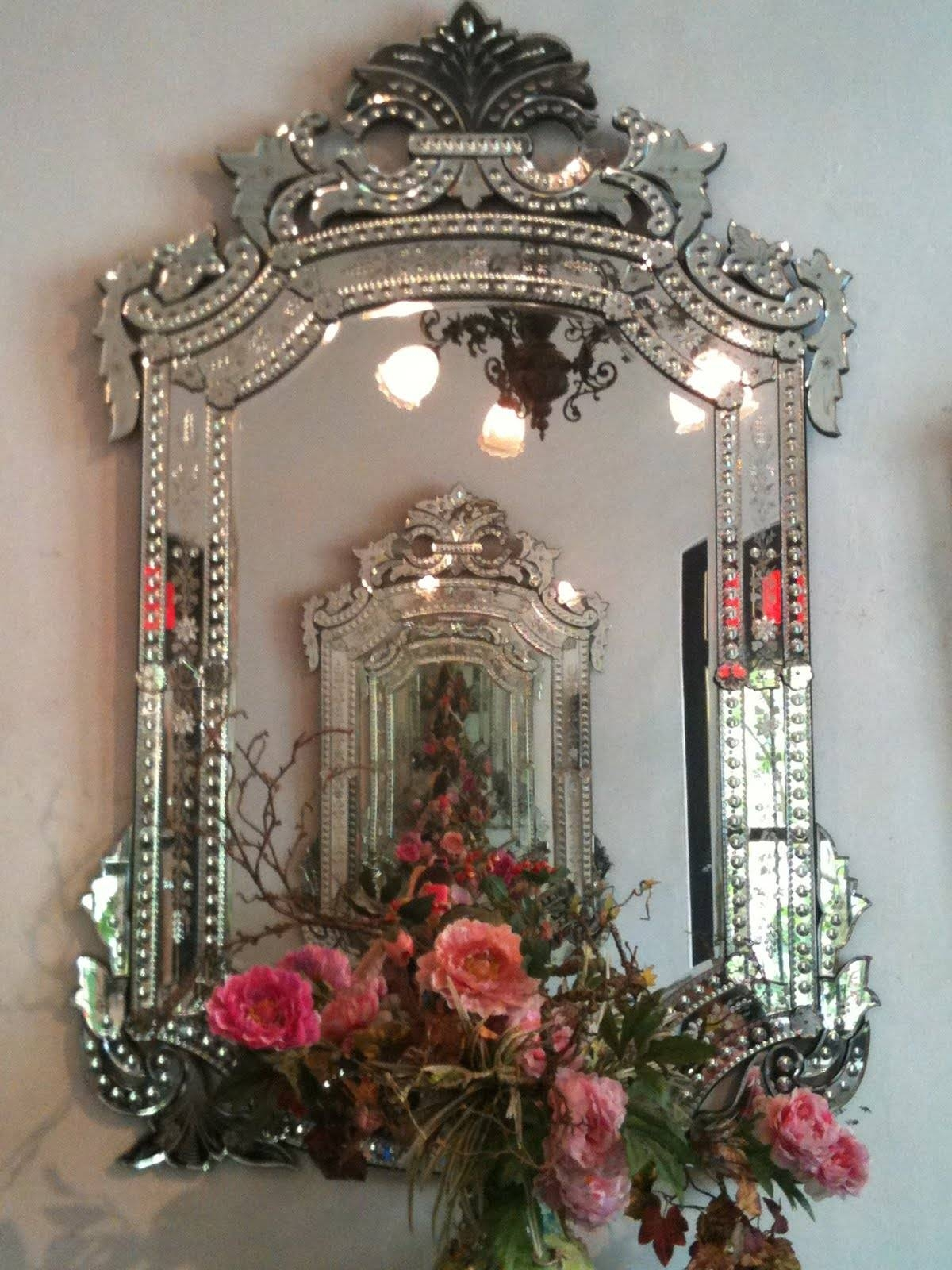 Interior: Luxe Mirrors | Gold Leaner Mirror | Venetian Mirror within Gold Venetian Mirrors (Image 11 of 25)