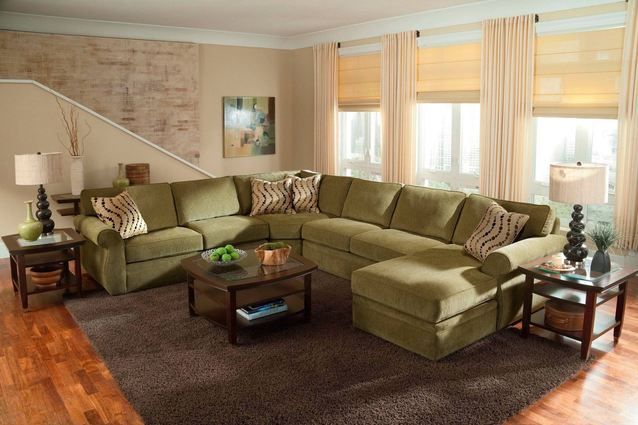 Interior: Luxury Oversized Sectional Sofa For Awesome Living Room with Huge Sofas (Image 20 of 30)