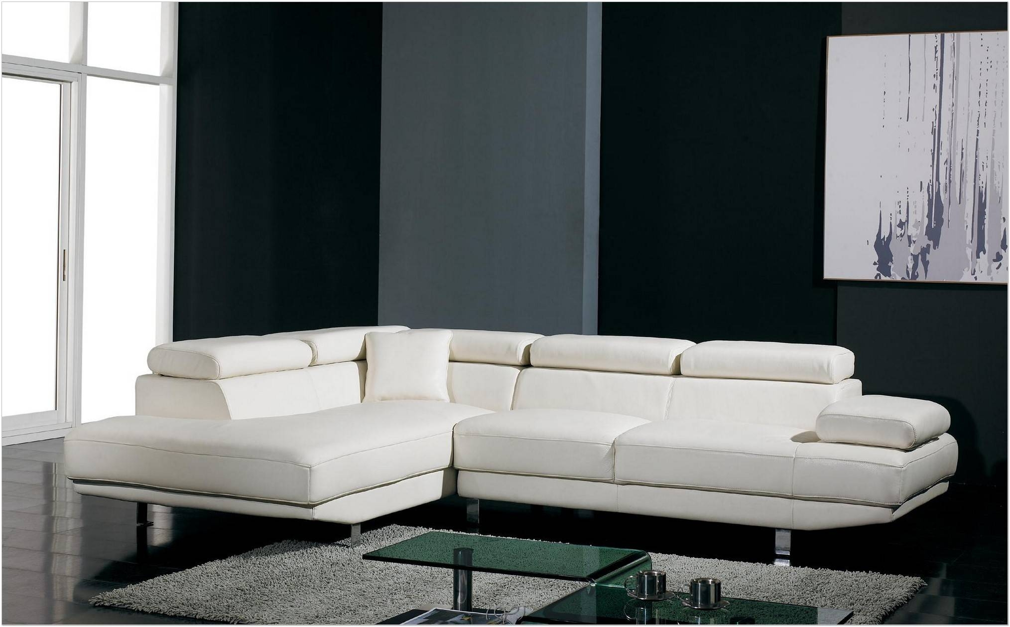 Interior : Modern Couches Corner Sofa Industrial Style Mid Century for White Modern Sofas (Image 10 of 30)