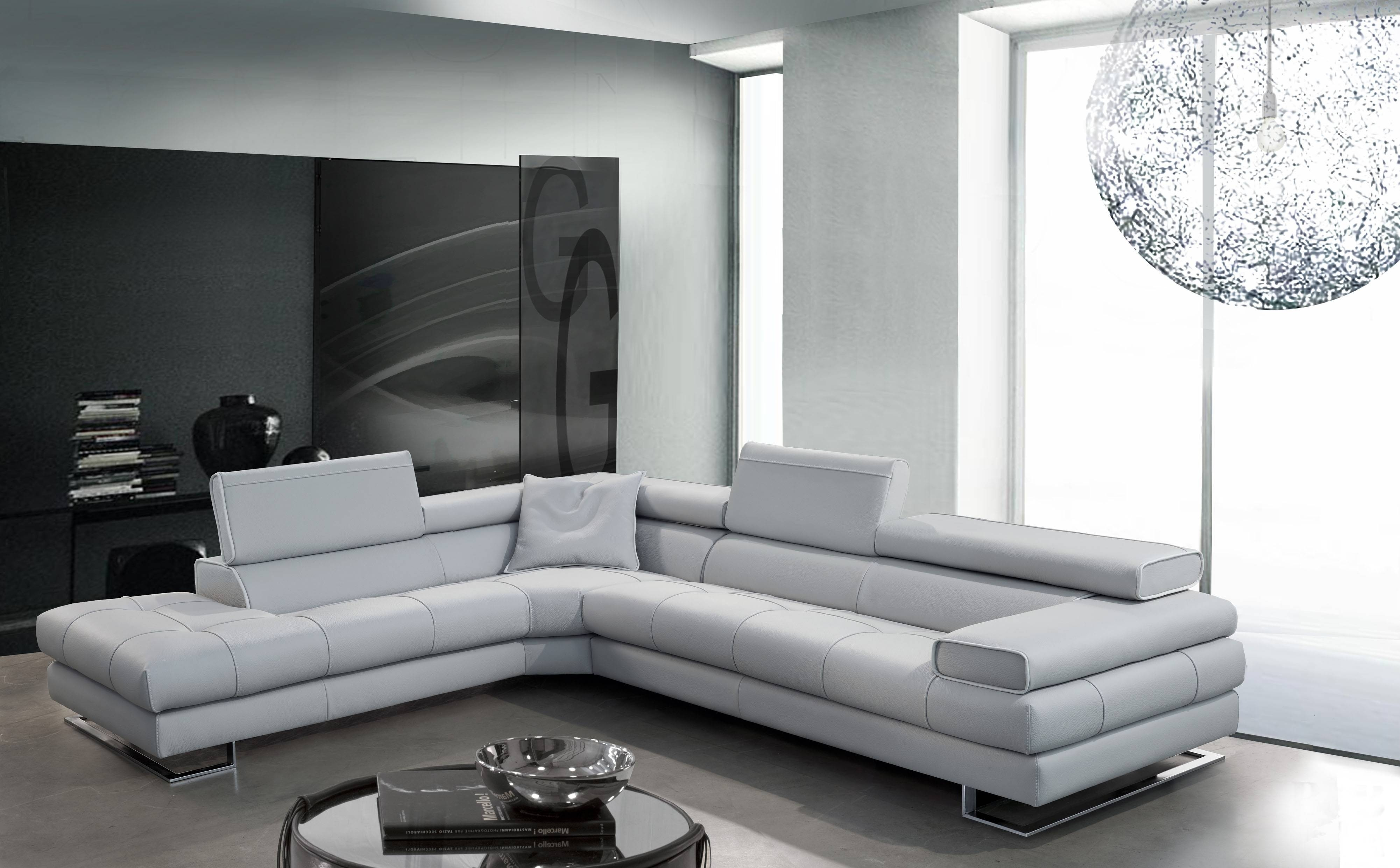 Interior: Stunning Micro Cheap Leather Sectionals For Living Room in Black Sectional Sofa for Cheap (Image 12 of 30)