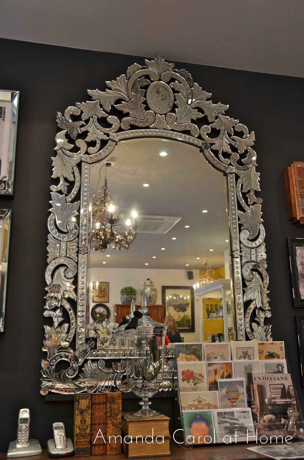 Interior: Venetian Mirror | Tall Venetian Mirror | Beveled Mirrors throughout Tall Venetian Mirrors (Image 8 of 25)