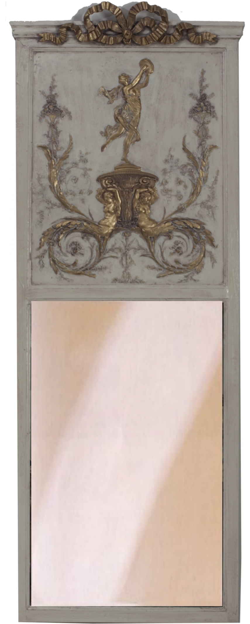 Interior: Vintage Trumeau Mirror For Home Interiors — Nadabike inside Tall Venetian Mirrors (Image 10 of 25)