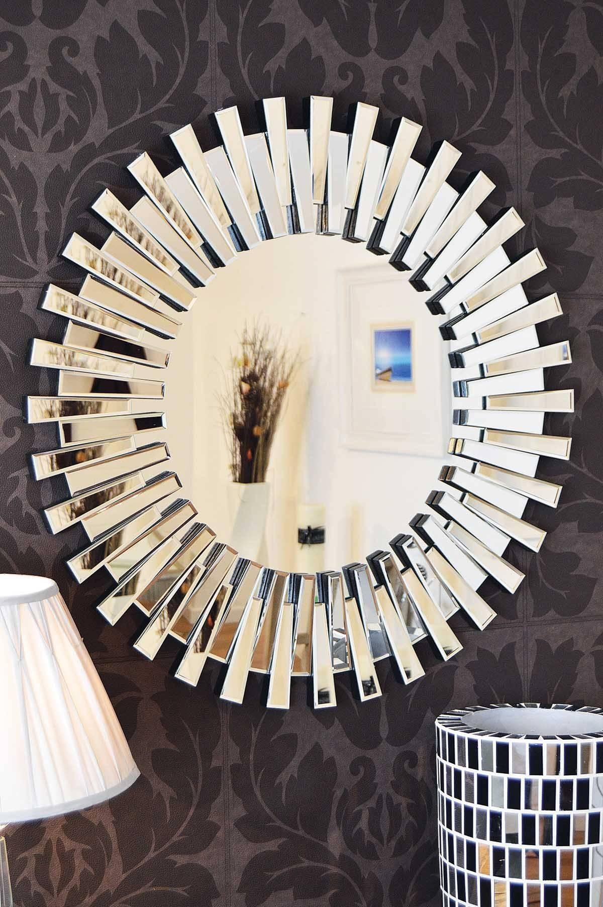 Interior: Vintage Venetian Mirror For Classic Interior Decor regarding Designer Round Mirrors (Image 16 of 25)