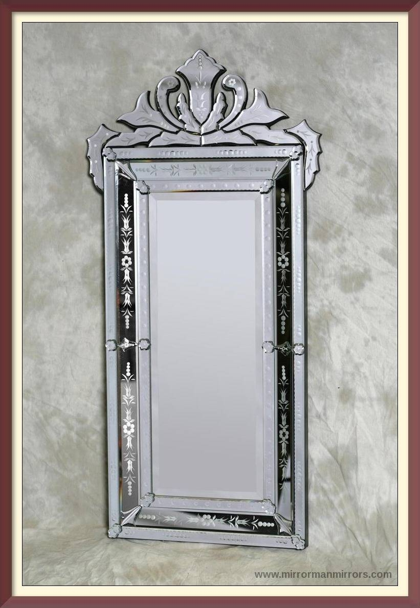 Interior: Wall Mounted Mirrors | Venetian Mirror | Gold Leaner Mirror Pertaining To Gold Venetian Mirrors (View 13 of 25)
