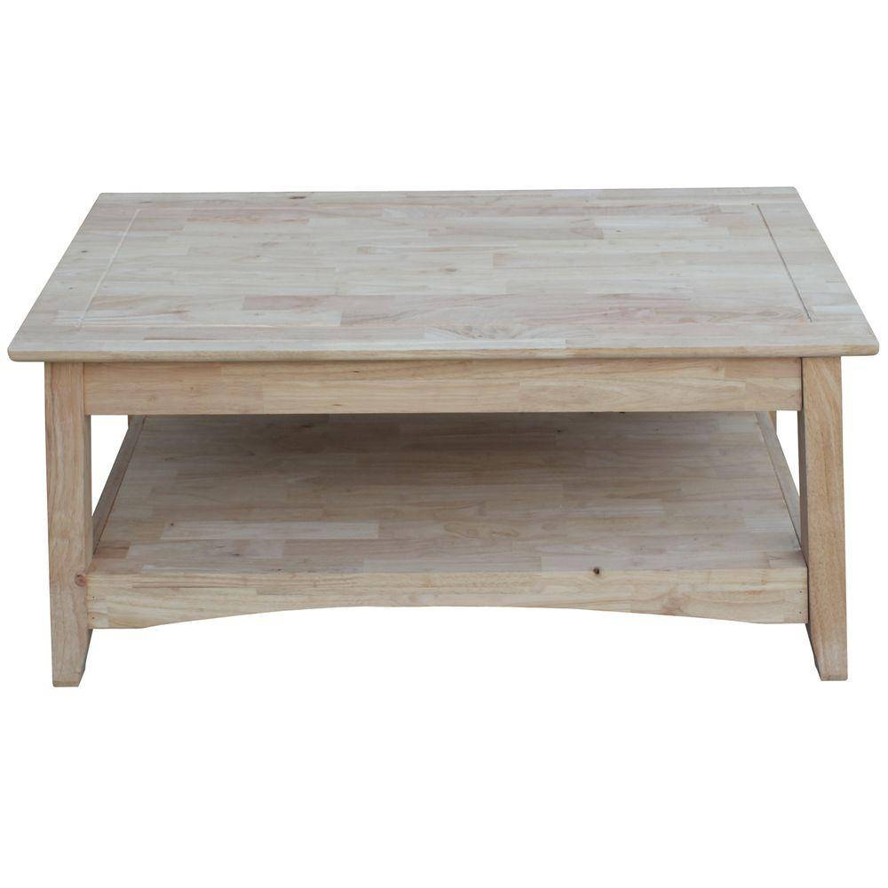 International Concepts Bombay Unfinished Lift Top Coffee Table-Ot in Bombay Coffee Tables (Image 21 of 30)