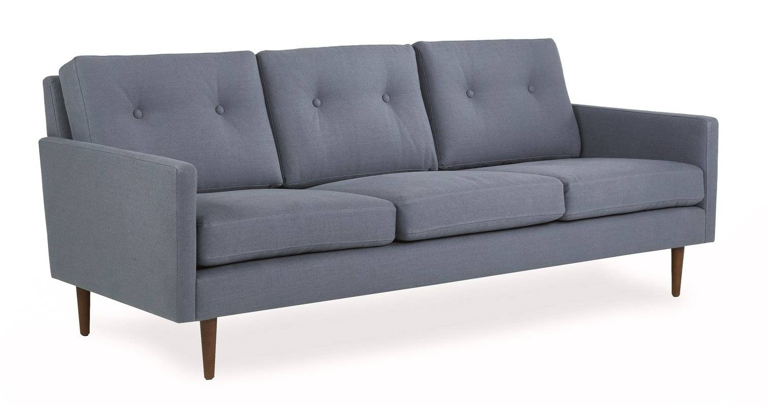 Iqrup And Ritz Betty Mid-Century Modern 3 Seater Sofa & Reviews inside Modern 3 Seater Sofas (Image 15 of 30)